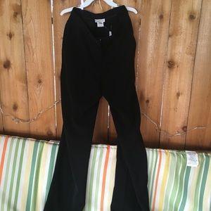 Bebe Black High Rise Dress Pants